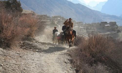 Zdjecie NEPAL / Annapurna / Manang / Braterskie pozdrowienie