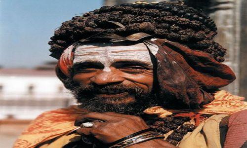 Zdjecie NEPAL / brak / Kathmandu / sadhu z Pashupatinath