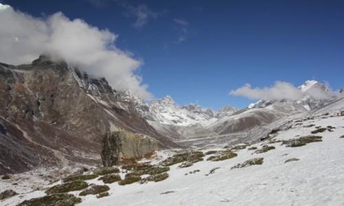 NEPAL / Park Narodowy Sagarmatha / Trekking EBC / Na trekkingu.