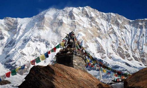 Zdjęcie NEPAL / Annapurna / Annapurna / Jej wysokosc Annapurna