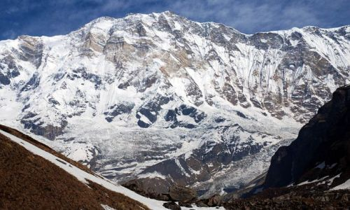 Zdjecie NEPAL / Annapurna / Annapurna / Jej wysokosc Annapurna