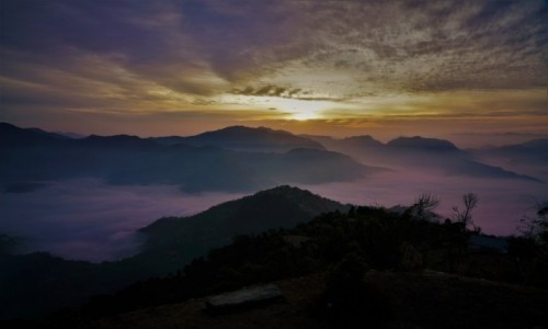 Zdjecie NEPAL / Mardi Himal / Mardi  Humal / Wschód