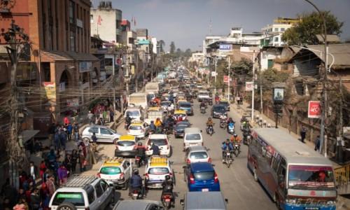 Zdjęcie NEPAL / Katmandu / Tahmel / Ulica Katmandu