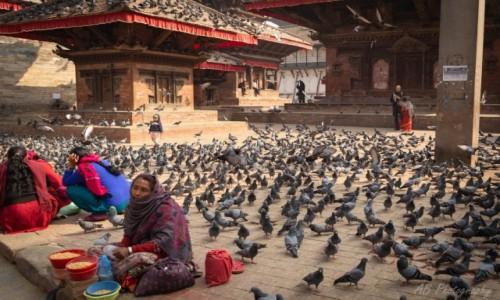 Zdjecie NEPAL / Katmandu / Tahmel / Durbar  Square