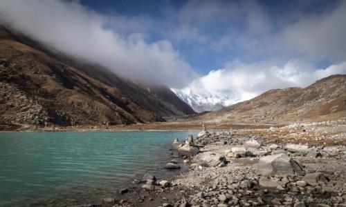 Zdjecie NEPAL / Himalaje / Gokyo Lake / Jezioro Gokyo
