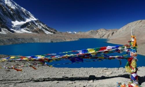 Zdjecie NEPAL / Khangsar / Tilicho Lake / Granatowe jezioro
