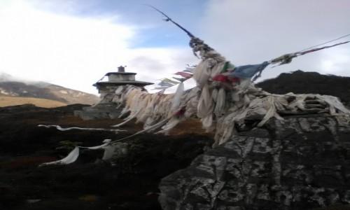 NEPAL / Himalaje / okolice Namche Bazar / W mrocznym nastroju