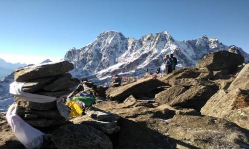Zdjecie NEPAL / Himalaje / Gokyo Ri / Na szczycie Gokyo Ri