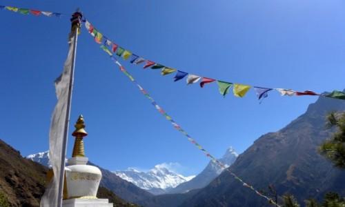 Zdjecie NEPAL / Park Narodowy Sagarmatha / Droga do EBC / Krajobrazy Nepalu