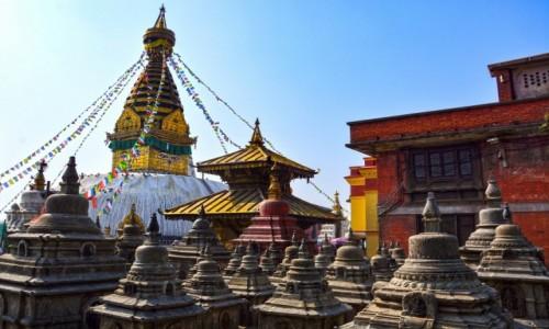 Zdjecie NEPAL / - / Katmandu / Swajambhunath