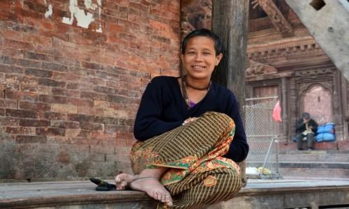 Zdjecie NEPAL / - / Katmandu / kobiety Nepalu 3