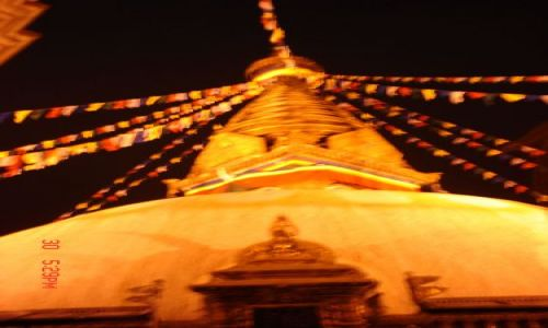 Zdjecie NEPAL / Katmandu / katmandu / swayambhunath noca..