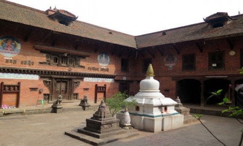 Zdjecie NEPAL / Kotlina Katmandu / Bhaktapur, Nepal / Durbar Square Bhaktapur. Nepal