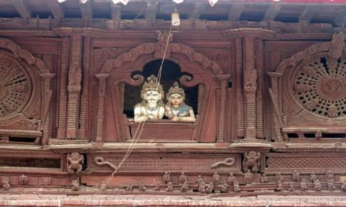 Zdjecie NEPAL / Kotlina Katmandu / Katmandu / Shiva Parvati Mandir, Durbar Squere Katmandu. Nepal
