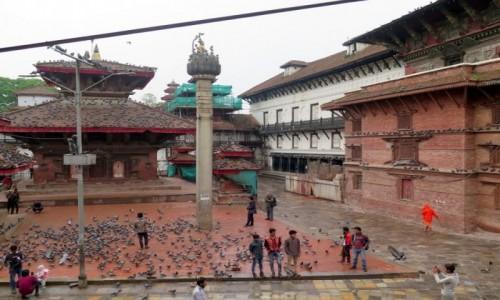 Zdjecie NEPAL / Kotlina Katmandu / Katmandu / Światynia Dźaganatha, Durbar Squere Katmandu. Nepal