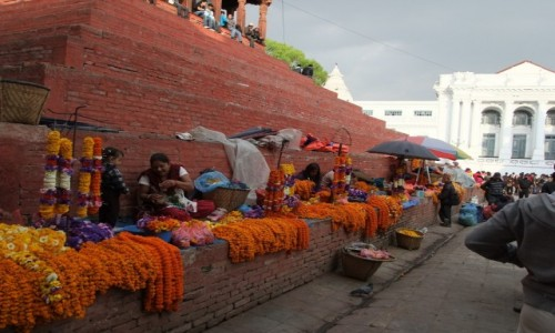 Zdjęcie NEPAL / Kathmandu / Durbar Square / Durbar Square Kathmandu