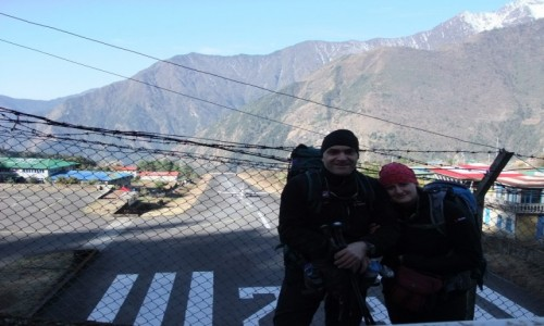 Zdjecie NEPAL / Khumbu / Lukla / Pas startowy w Lukli