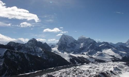 NEPAL / Khumbu / Himalaje / Cholatse i Tawoche