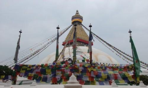 Zdjecie NEPAL / Kathmandu / Kathmandu / Stupa Bodnath