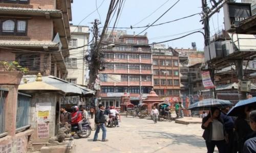 Zdjęcie NEPAL / Kathmandu / Kathmandu / Uliczki Kathamndu