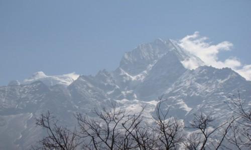 Zdjęcie NEPAL / Himalaje / Sagarmatha N P / Thamserku