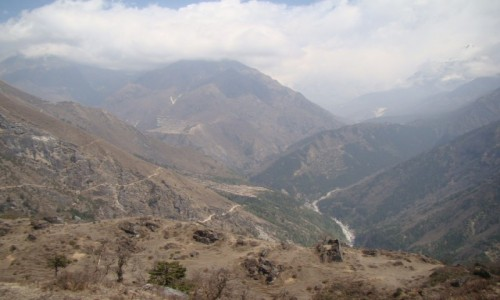 NEPAL / Himalaje / Sagarmatha N P / Dolina Imja Khola