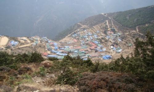NEPAL / Himalaje / Sagarmatha N P / Namche Bazar