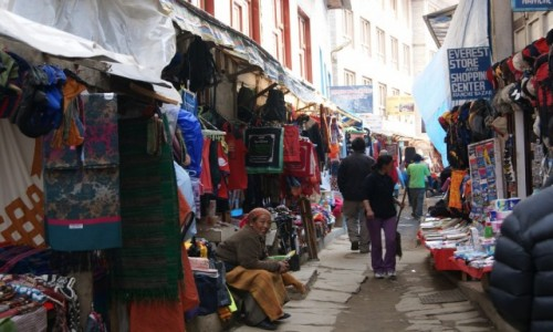 Zdjecie NEPAL / Himalaje / Namche Bazar / Namche