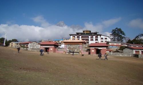 Zdjęcie NEPAL / Himalaje / Himalaje / Klasztor w Tengboche