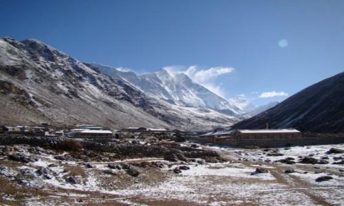 Zdjęcie NEPAL / Himalaje / Dingboche / Lhotse