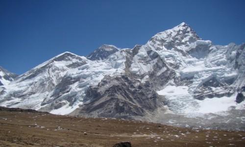 Zdjecie NEPAL / Himalaje / Dolina Khumbu / Nuptse i Everest