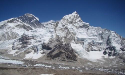 Zdjecie NEPAL / Himalaje / Kala Pattar / Everest i Nuptse