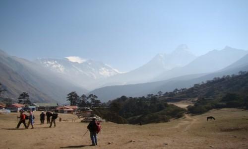 Zdjecie NEPAL / Himalaje / Tengboche / Everest, Lhotse, Ama Dablam