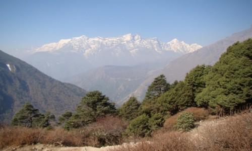 NEPAL / Himalaje / Tengboche / Kongde Ri