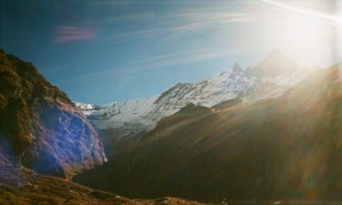 Zdjecie NEPAL / Annapurna region / Machhapuchhre / Rybi ogon Fish tail Swieta gora