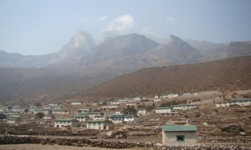 Zdjecie NEPAL / Himalaje / Khumjung / Wioska Khumjung