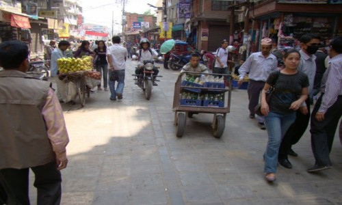 Zdjęcie NEPAL / Kathmandu / Wokół Thamelu / Uliczki Kathmandu