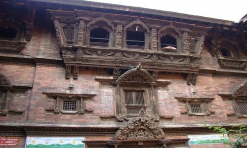 Zdjecie NEPAL / Kathmandu / Durbar Square / Tu mieszka Kumari