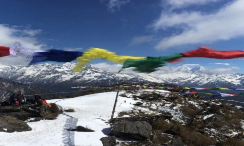Zdjecie NEPAL / Langtang / Ama Yangi / Full moon festival