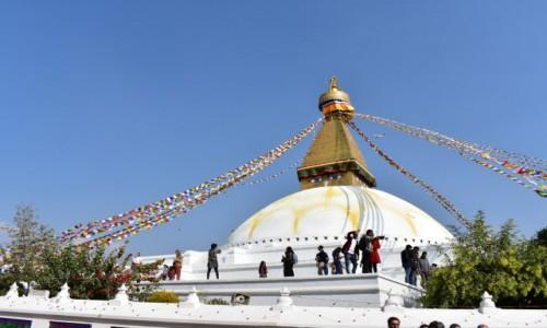 NEPAL / - / Katmandu / Stupa Bodnath