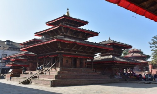 Zdjecie NEPAL / Katmandu / Katmandu /  Durbar Square