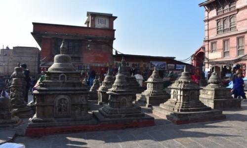 Zdjecie NEPAL / Katmandu / Katmandu / Świątynia Swayambhunath