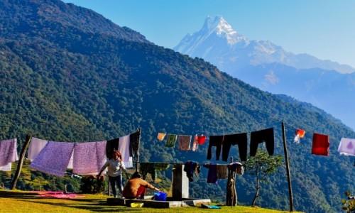NEPAL / Himalaje / Himalaje / zycie w górach