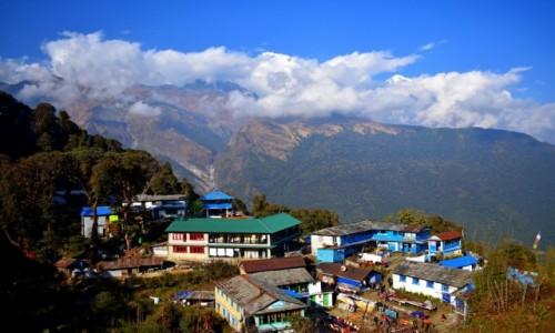 NEPAL / strefa Dhaulagiri / Ghorepani / Ghorepani