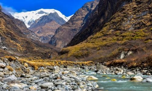 NEPAL / obszar Annapurny / Himalaje / Na trasie do ABC
