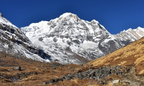 NEPAL / Strefa Gandaki / Annapurna / Annapurna Południowa