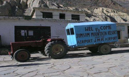 Zdjęcie NEPAL / Jomsom / Jomsom / Do terminala 2