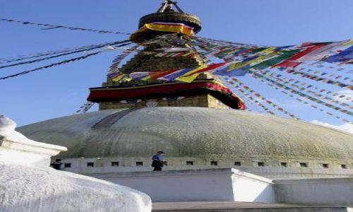 Zdjecie NEPAL / Kathmandu valley / Bodhnath / Bodhnath stupa