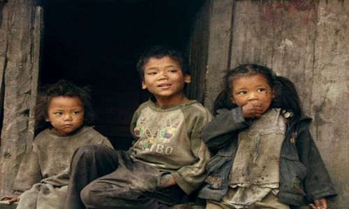 Zdjęcie NEPAL / Annapurna TREK / NEPAL / Brudaski ale szczęśliwe :)