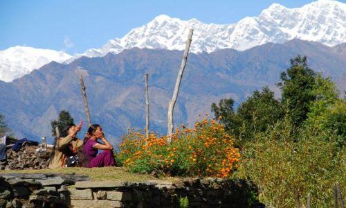 Zdjecie NEPAL / Annapurna TREK / NEPAL / Kobiety Himalajów